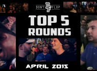 DON'T FLOP: Top 5 Rounds | April 2015
