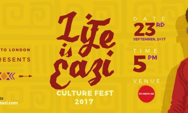 MR EAZI ANNOUNCES LINE UP FOR LIFE IS EAZI CULTURE FESTIVAL